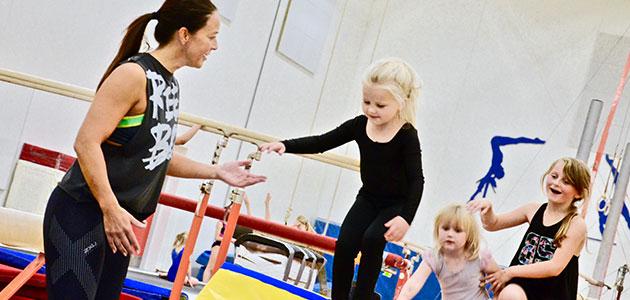 Hold 0200 – Børnemotorik & Gymnastik. Drenge og piger 3-4 år